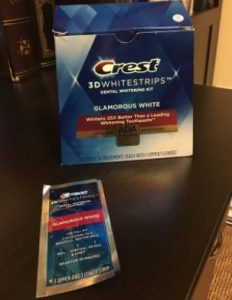 لصقات كرست للاسنان الحساسة Crest™ 3D Whitestrips Original photo review