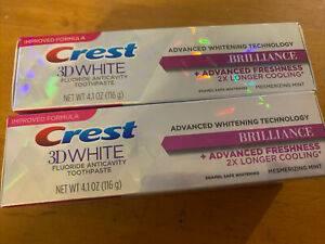 معجون اسنان كرست لتبييض الاسنان Crest™ 3D Brilliance Toothpaste Original photo review